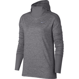 Nike Element LS Shirt Women gunsmoke/heather